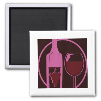 Red Wine Lover Magnet