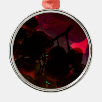 RED WINE METAL ORNAMENT