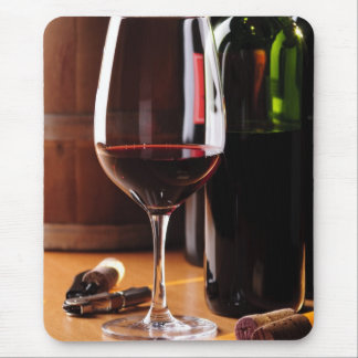 Red Wine Mouse Pad