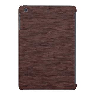 Red Wine Natural Oak Wood Grain Look iPad Mini Retina Case