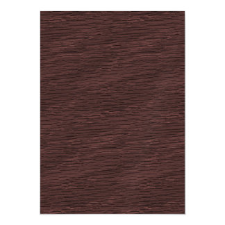 Red Wine Natural Oak Wood Grain Look Magnetic Card