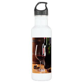 Red Wine 24oz Water Bottle