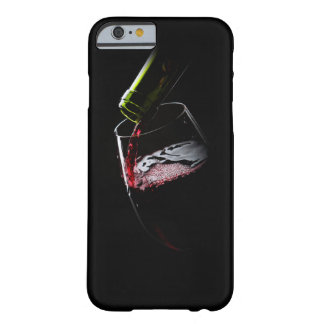 Red Wine Photo | Black iPhone 6 Case