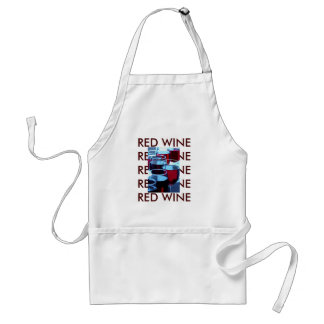Red Wine Photograph Adult Apron