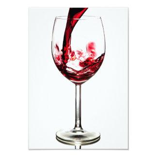 red wine pouring invitation