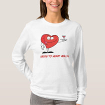 Red Wine Toast to Heart Health T-Shirt