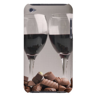 red wine with chocolates barely there iPod cases