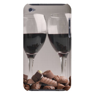 red wine with chocolates Case-Mate iPod touch case