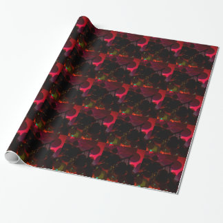 RED WINE WRAPPING PAPER