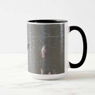 Red Wing Black Bird Mug