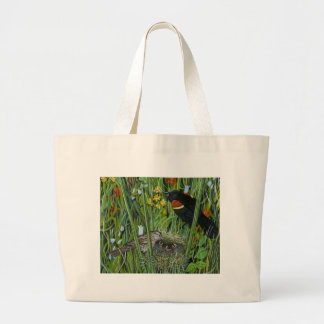 Red Wing Blackbird Canvas Bag