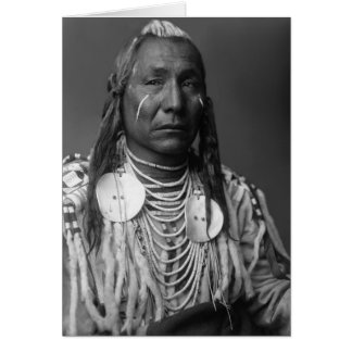 Red Wing (Native American Man) Card