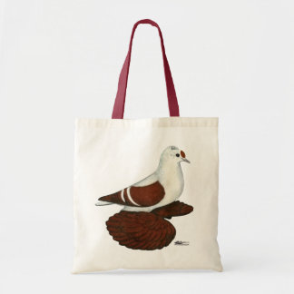 Red Wing Pigeon Tote Bag