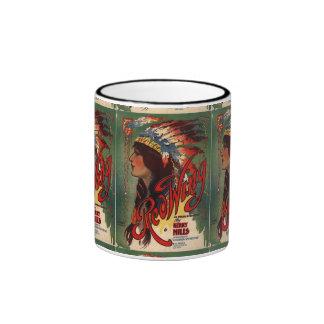 Red Wing Vintage Sheet Music 11 oz Ringer Mug