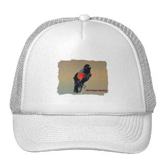 Red-winged Blackbird Art Trucker Hat
