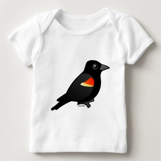 Red-winged Blackbird Baby T-Shirt
