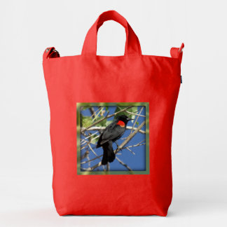 Red-winged Blackbird Duck Bag