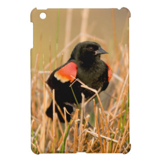 Red-winged Blackbird male singing iPad Mini Case