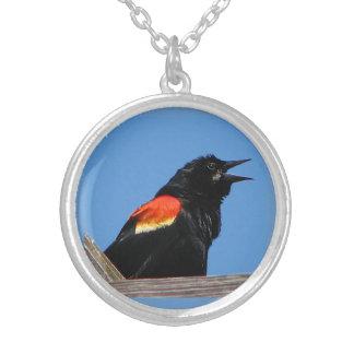 Red-Winged Blackbird Pendants