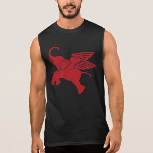 The Official Logo of Winners Muscle Shirt Republican Party Elephant Sleeveless