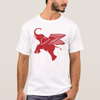 Red winged elephant T-Shirt