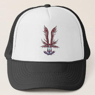 Red Winged Faerie Trucker Hat