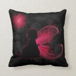Red Winged Fairy Pillow