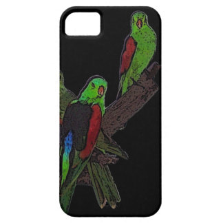 Red-winged parrot iPhone SE/5/5s case