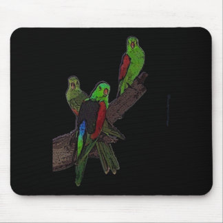 Red Winged Parrot mousepad