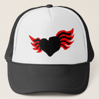 Red wings trucker hat