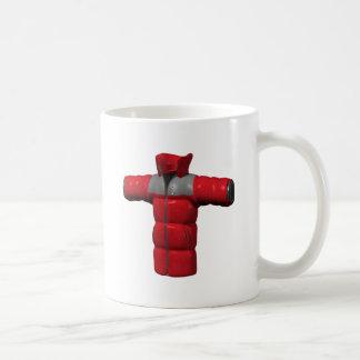 Red Winter Coat Coffee Mug
