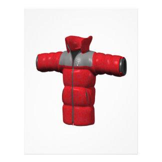 Red Winter Coat Full Color Flyer