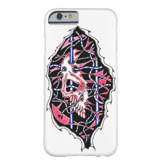 Red Wired Skull case