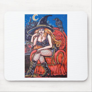 RED WITCH MOUSEPAD