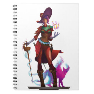 Red Witch notebook