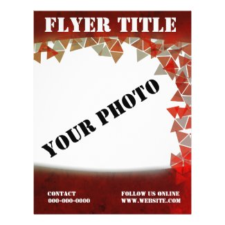 RED with 10 TEMPLATE PAD Flyer