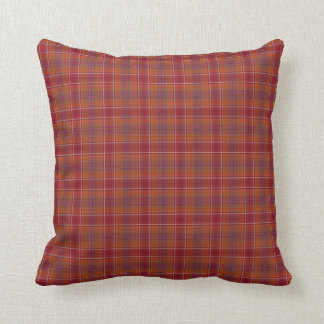 Red with Orange Squares Pillow