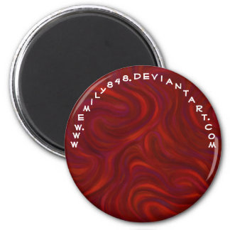 Red with Something to Prove Magnet