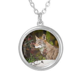 Red Wolf Personalized Necklace