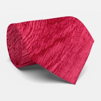 Red Wood Grain Texture #2 Tie