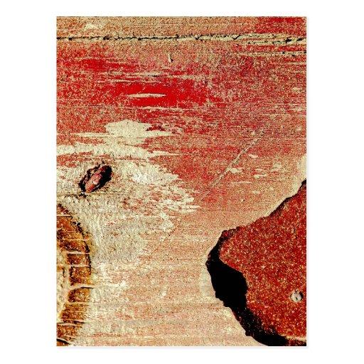 """Red Wood"" JTG Art Postcard"
