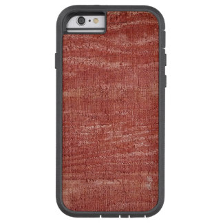 Red wood texture tough xtreme iPhone 6 case
