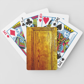 Red wooden furniture interior design texture deck of cards