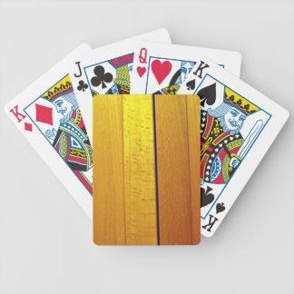 Red wooden interior design texture card deck