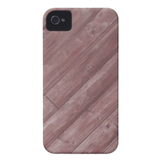 Red Wooden Texture Design Case-Mate iPhone 4 Case