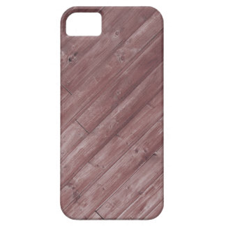 Red Wooden Texture Design iPhone SE/5/5s Case