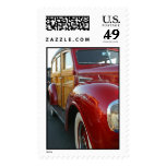 Red Woodie Postage Stamp