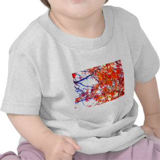 Red Woodland Pastels T-shirt