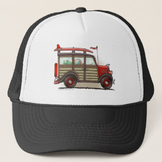 Red Woody Wagon Hats