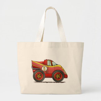 Red World Manufactures Championship Car Bags/Totes Jumbo Tote Bag